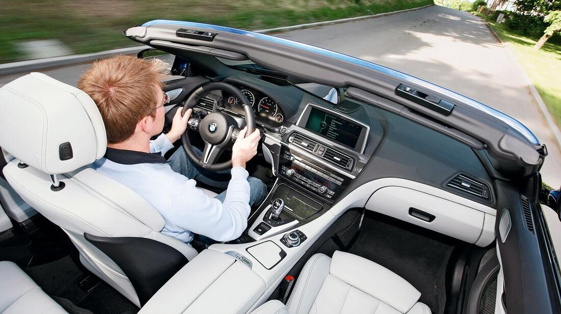 BMW M6 Cabrio, Cockpit