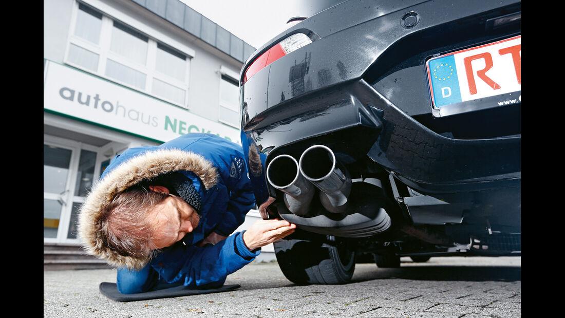 BMW M6 Cabrio, Endrohre
