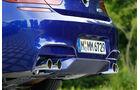BMW M6 Cabrio, Endrohre, Auspuff