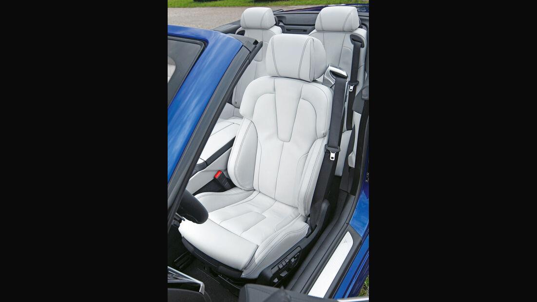 BMW M6 Cabrio, Fahrersitz