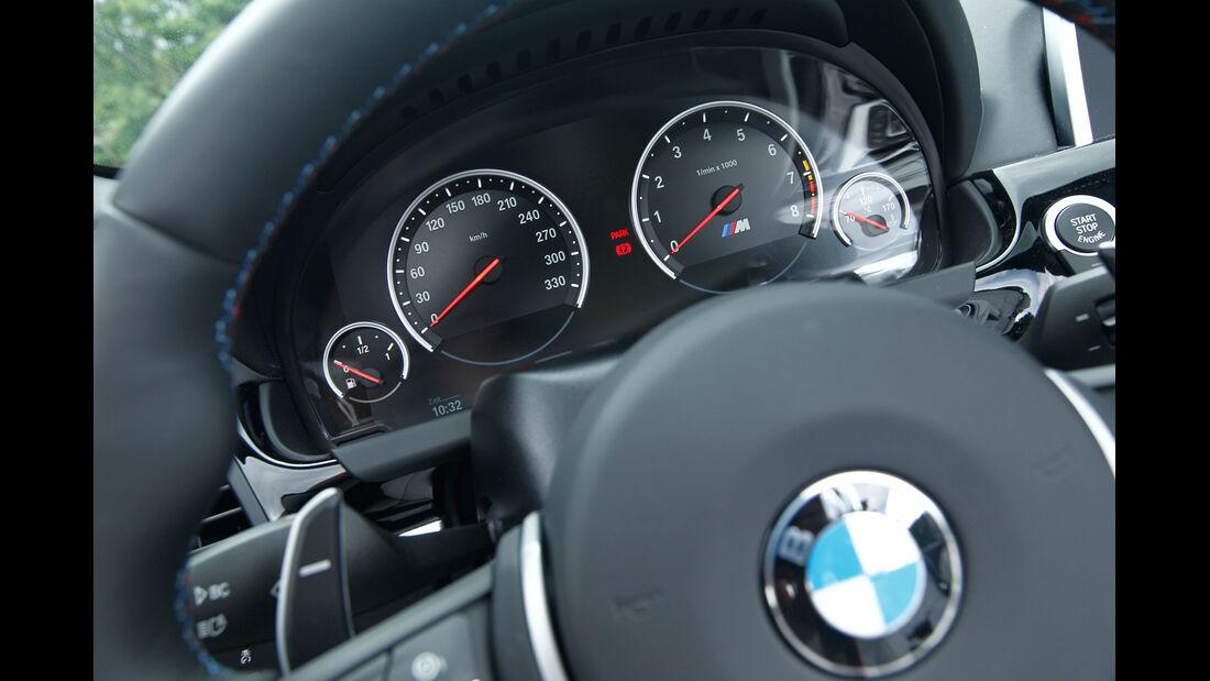 BMW M6 Cabrio, Lenkrad, Rundinstrumente