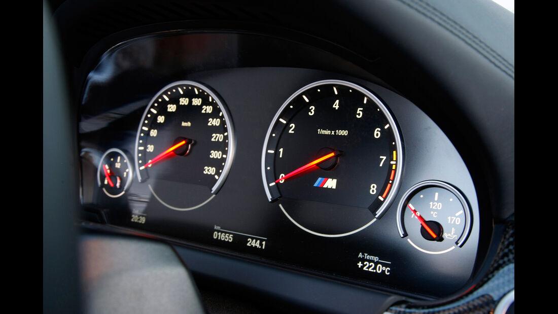 BMW M6 Cabrio, Rundinstrumente