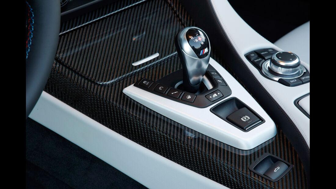 BMW M6 Cabrio, Schalthebel, Gangschaltung
