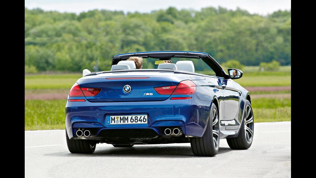BMW M6 Cabriolet, Heckansicht