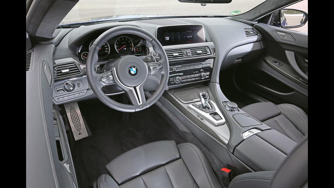 BMW M6 Competition, Cockpit