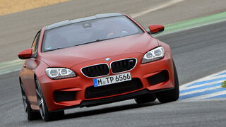 BMW M6 Competition, Frontansicht
