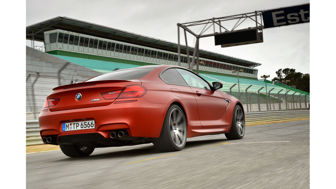 BMW M6 Competition, Heckansicht
