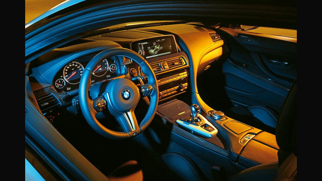 BMW M6 Competition-Paket, Cockpit