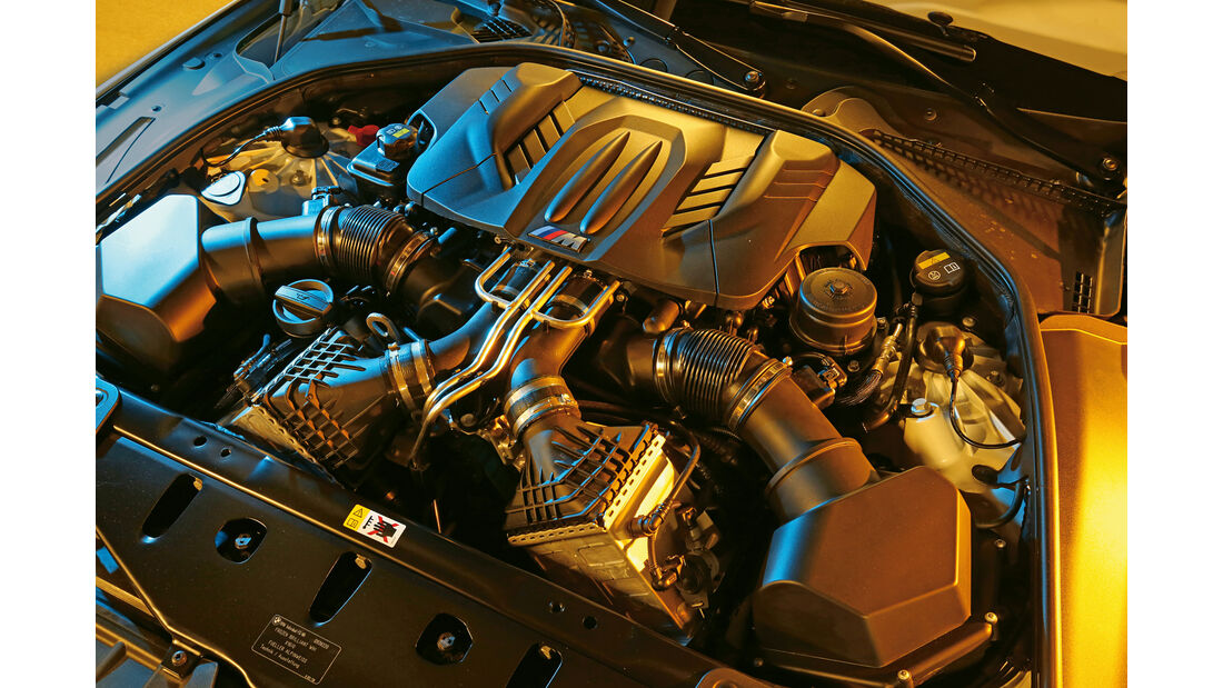 BMW M6 Competition-Paket, Motor