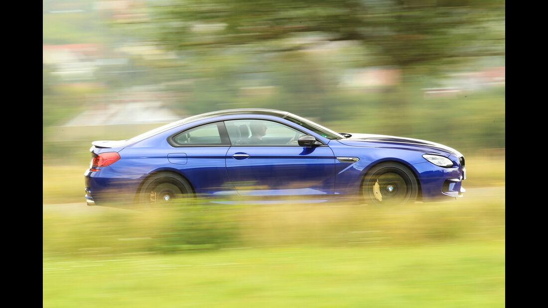 BMW M6 Competition, Seitenansicht