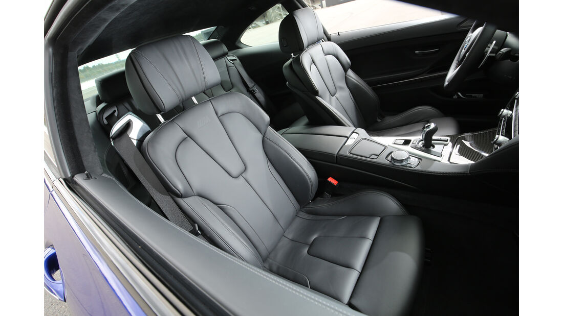 BMW M6 Competition, Sitze