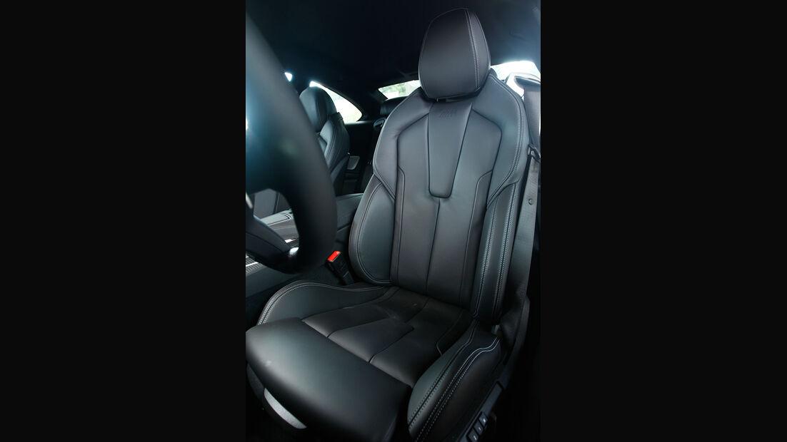 BMW M6 Coupé, Fahrersitz