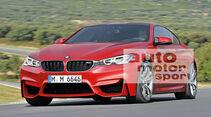 BMW M6 Coupé, Frontansicht