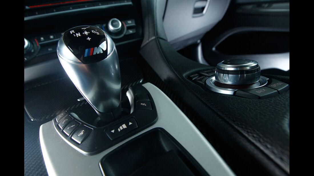 BMW M6 Coupé, Schalthebel, Schaltknauf