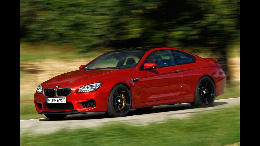BMW M6 Coupé, Seitenansicht