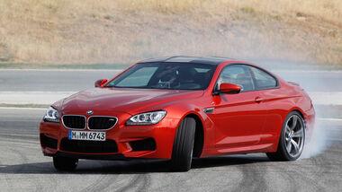 BMW M6 Coupé, Seitenansicht, Driften