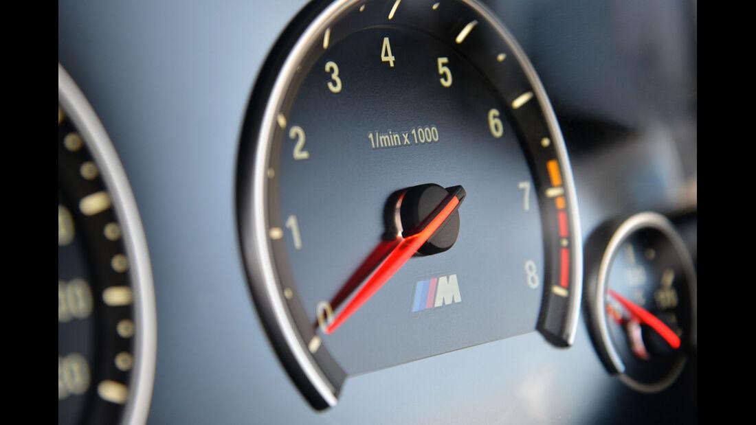 BMW M6, Drehzahlmesser