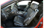 BMW M6, Fahrersitz