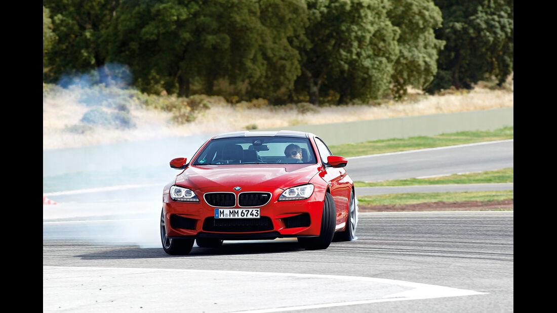 BMW M6, Frontansicht, Driften
