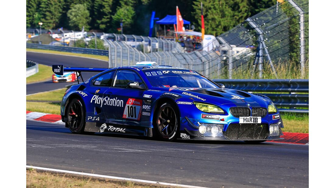 BMW M6 GT - Startnummer #101 - 24h Rennen Nürburgring - 21. Juni 2019