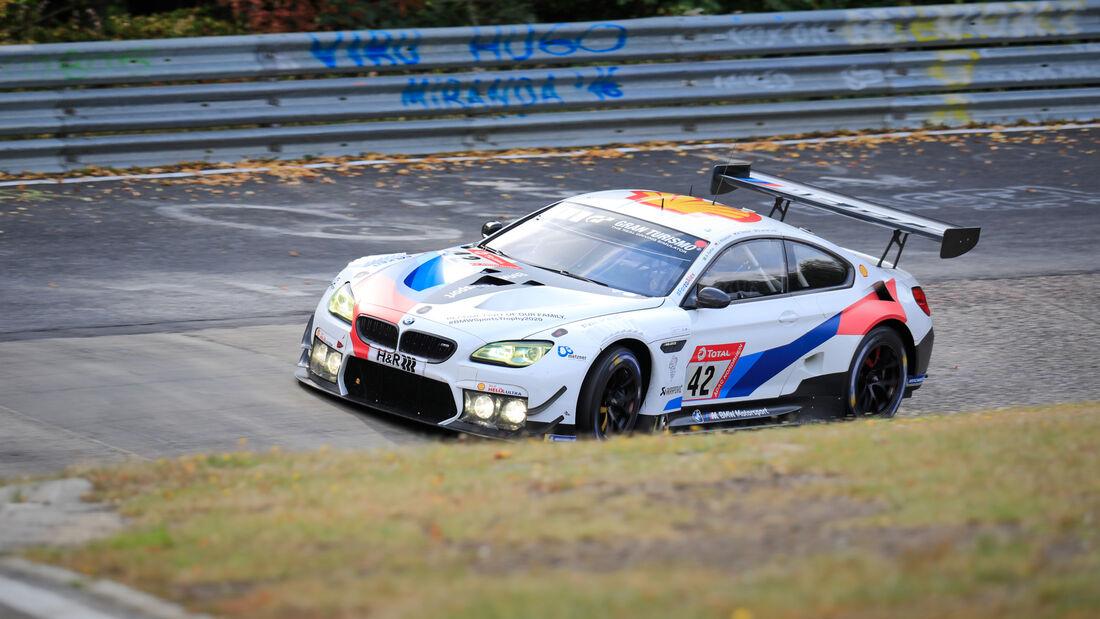 BMW M6 GT3 - BMW Team Schnitzer - Startnummer #42 - 24h-Rennen - Nürburgring - Nordschleife - Donnerstag - 24. September 2020