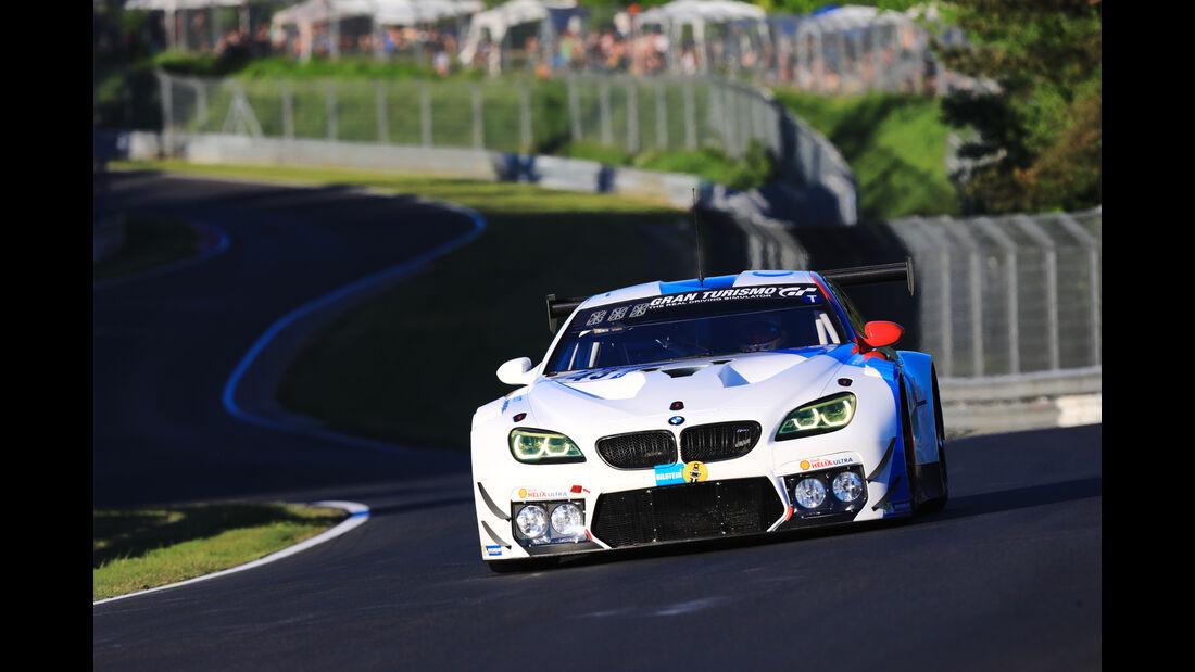 BMW M6 GT3 - BMW Team Schnitzer - Startnummer #43 - Top-30-Qualifying - 24h-Rennen Nürburgring 2017 - Nordschleife