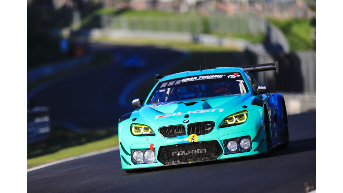 BMW M6 GT3 - Falken Motorsports - Startnummer #33 - Top-30-Qualifying - 24h-Rennen Nürburgring 2017 - Nordschleife