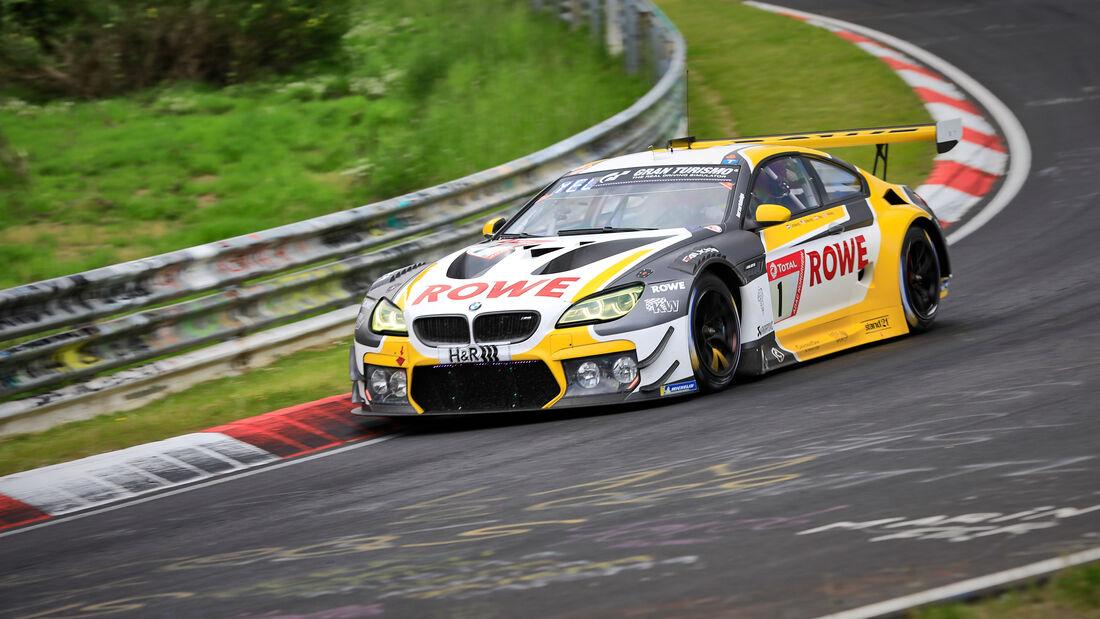 BMW M6 GT3 - ROWE Racing - Startnummer #1 - Klasse: SP 9 (FIA-GT3) - 24h-Rennen - Nürburgring - Nordschleife - 03. - 06. Juni 2021