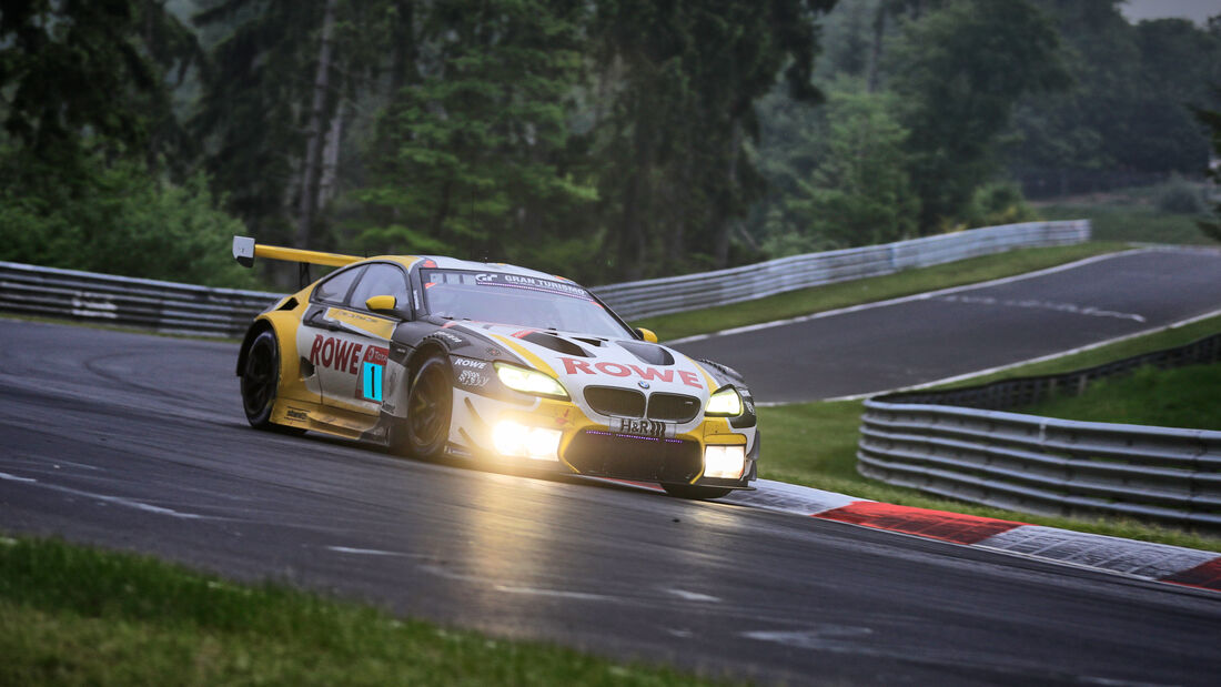 BMW M6 GT3 - Rowe Racing - Startnummer #1 - 24h-Rennen Nürburgring - Nürburgring-Nordschleife - 5. Juni 2021