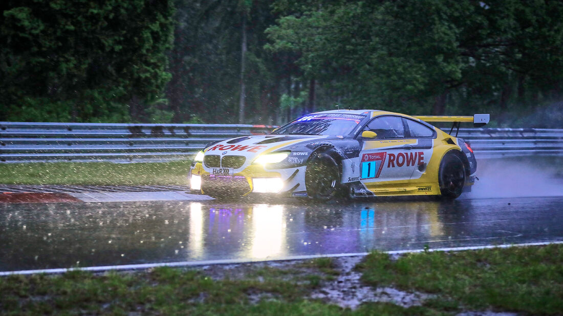 BMW M6 GT3 - Rowe Racing - Startnummer 1 - 24h Rennen - Nürburgring-Nordschleife