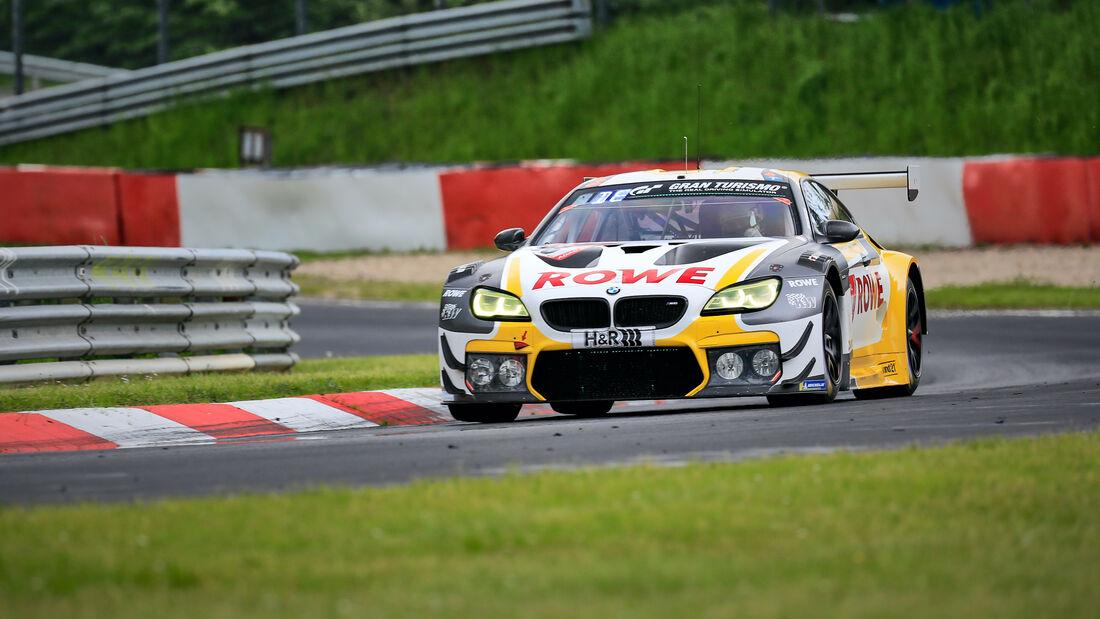 BMW M6 GT3 - Rowe Racing - Startnummer 98 - 24h Rennen Nürburgring - Nürburgring-Nordschleife - 4. Juni 2021