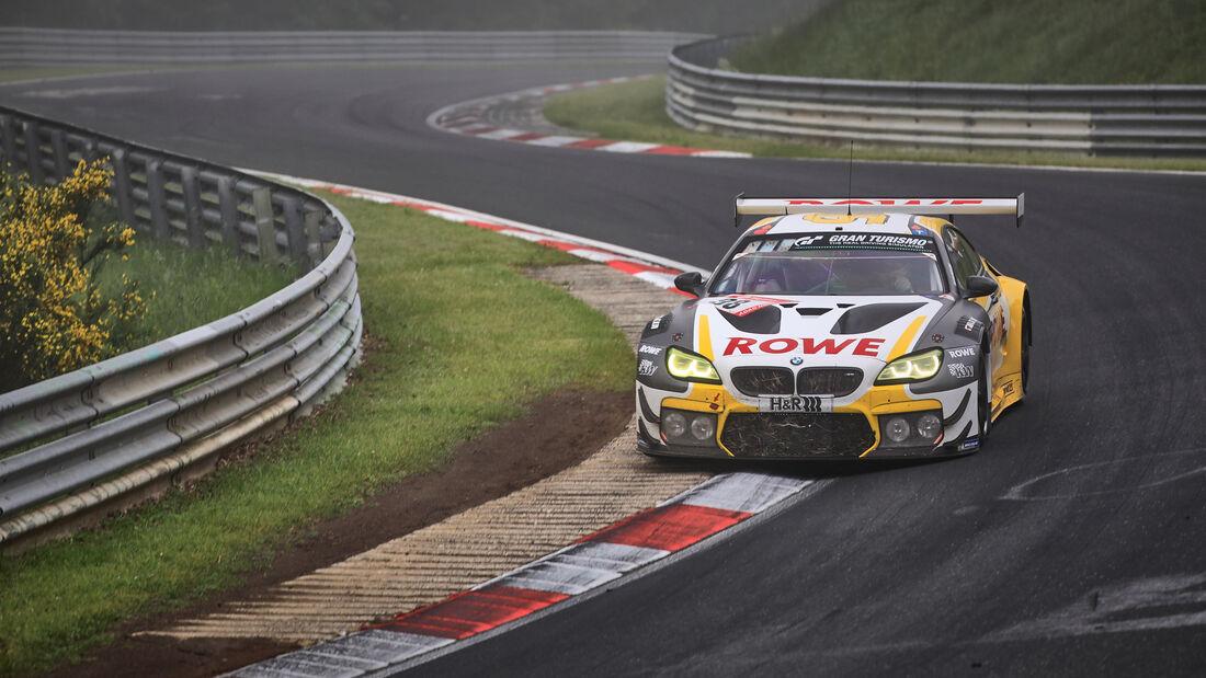 BMW M6 GT3 - Rowe Racing - Startnummer #98 - 24h-Rennen Nürburgring - Nürburgring-Nordschleife - 6. Juni 2021