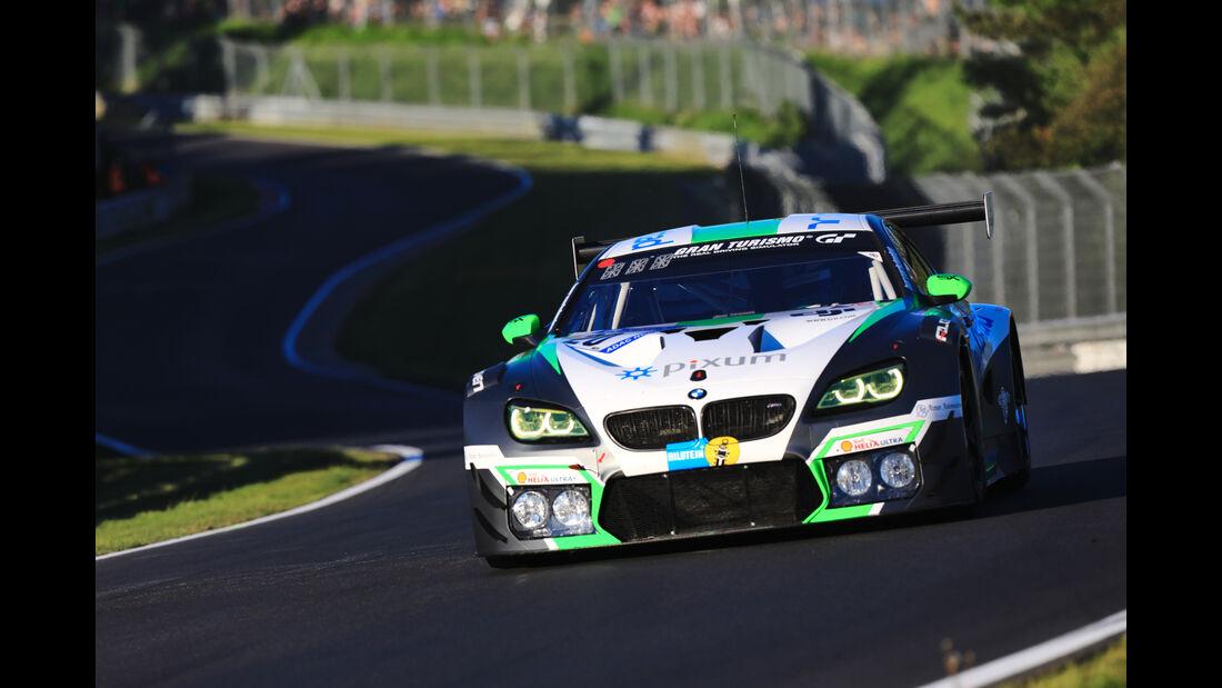 BMW M6 GT3 - Schubert Motorsport - Startnummer #20 - Top-30-Qualifying - 24h-Rennen Nürburgring 2017 - Nordschleife