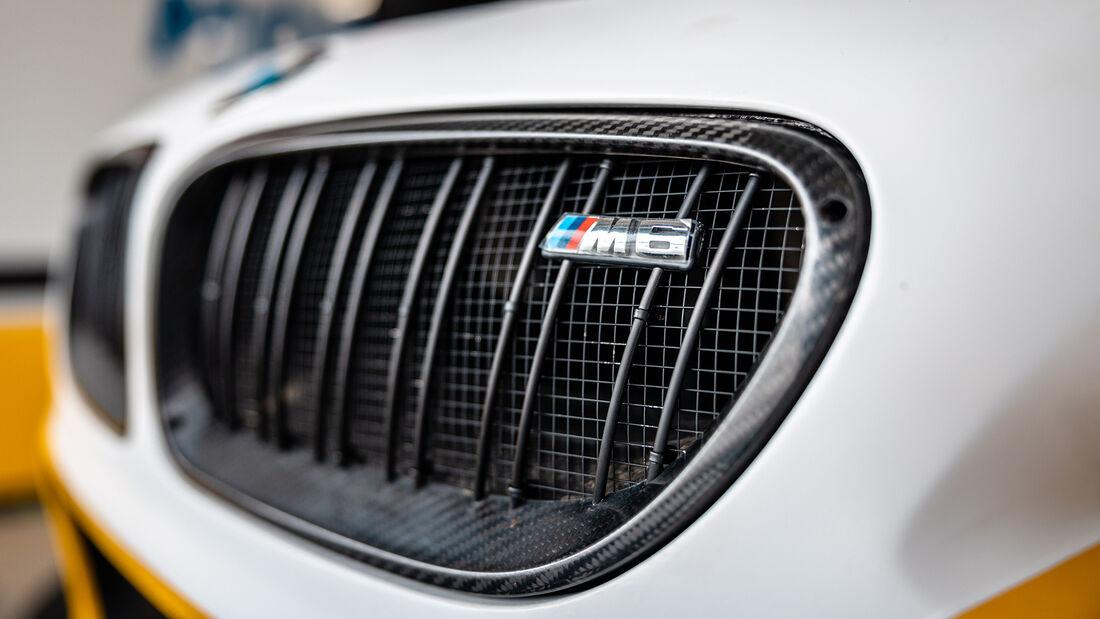 BMW M6 GT3 - Sheldon van der Linde - DTM-Test - Hockenheim 2021