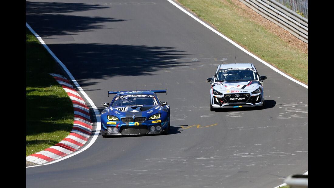 BMW M6 GT3 - Startnummer #101 - 2. Qualifying - 24h-Rennen Nürburgring 2017 - Nordschleife
