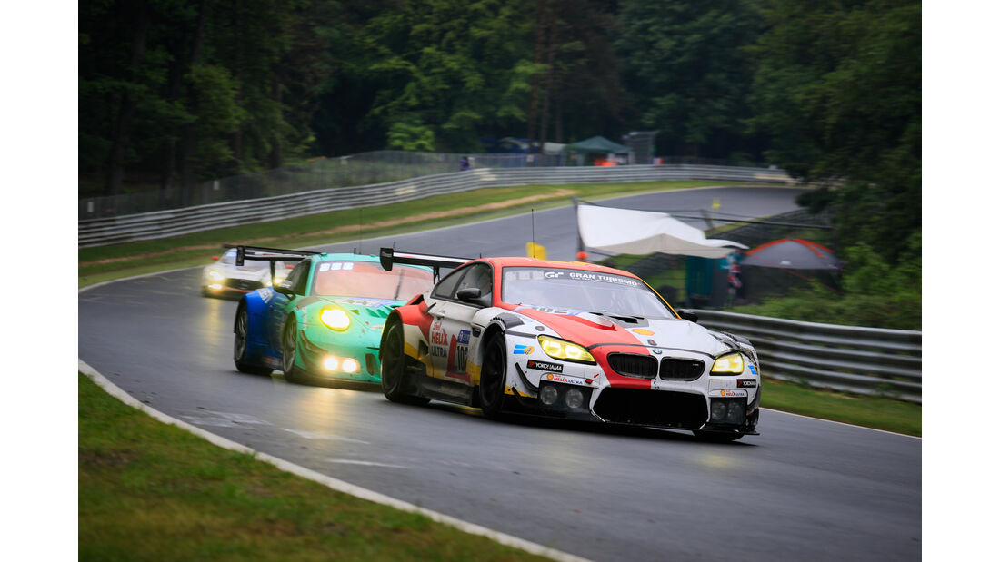 BMW M6 GT3 - Startnummer #102 - 24h-Rennen Nürburgring 2018 - Nordschleife - 13.5.2018