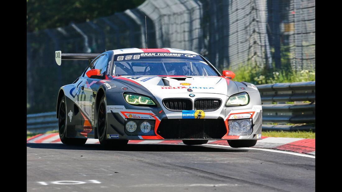 BMW M6 GT3 - Startnummer #19 - 2. Qualifying - 24h-Rennen Nürburgring 2017 - Nordschleife