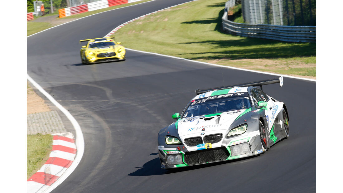 BMW M6 GT3 - Startnummer #20 - 24h-Rennen Nürburgring 2017 - Nordschleife - Samstag - 27.5.2017