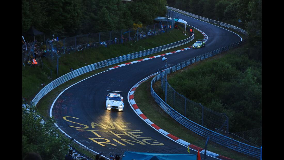 BMW M6 GT3 - Startnummer #43 - 24h-Rennen Nürburgring 2017 - Nordschleife - Samstag - 27.5.2017