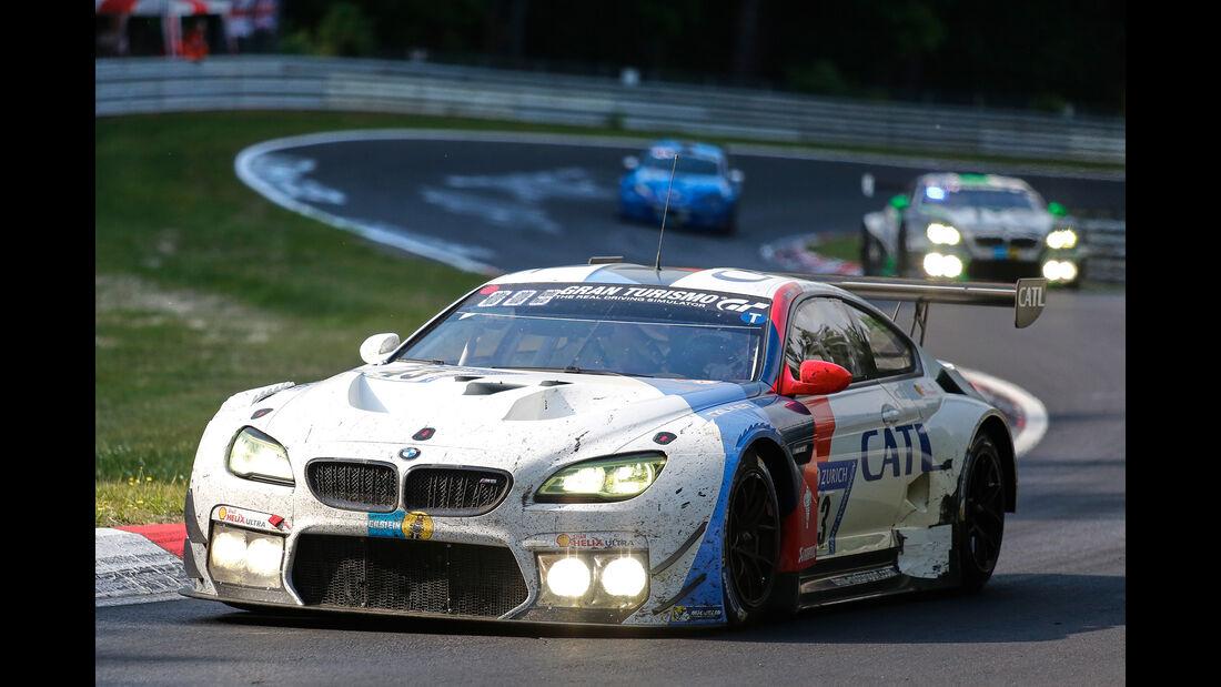 BMW M6 GT3 - Startnummer #43 - 24h-Rennen Nürburgring 2017 - Nordschleife - Sonntag - 28.5.2017