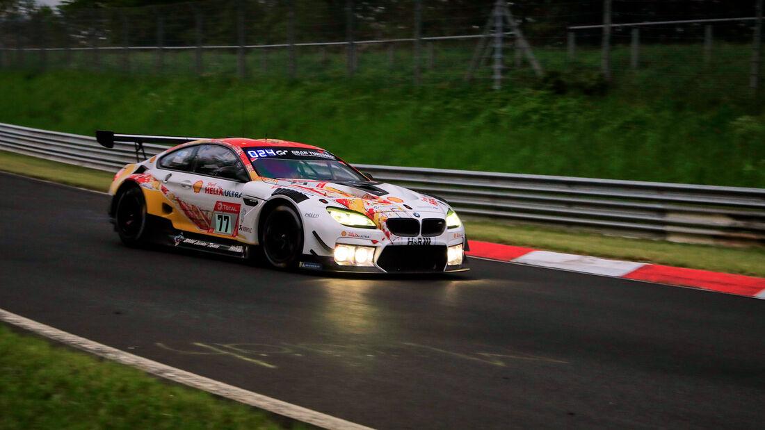 BMW M6 GT3 - Startnummer 77 - 24h Rennen Nürburgring - Nürburgring-Nordschleife - 3. Juni 2021