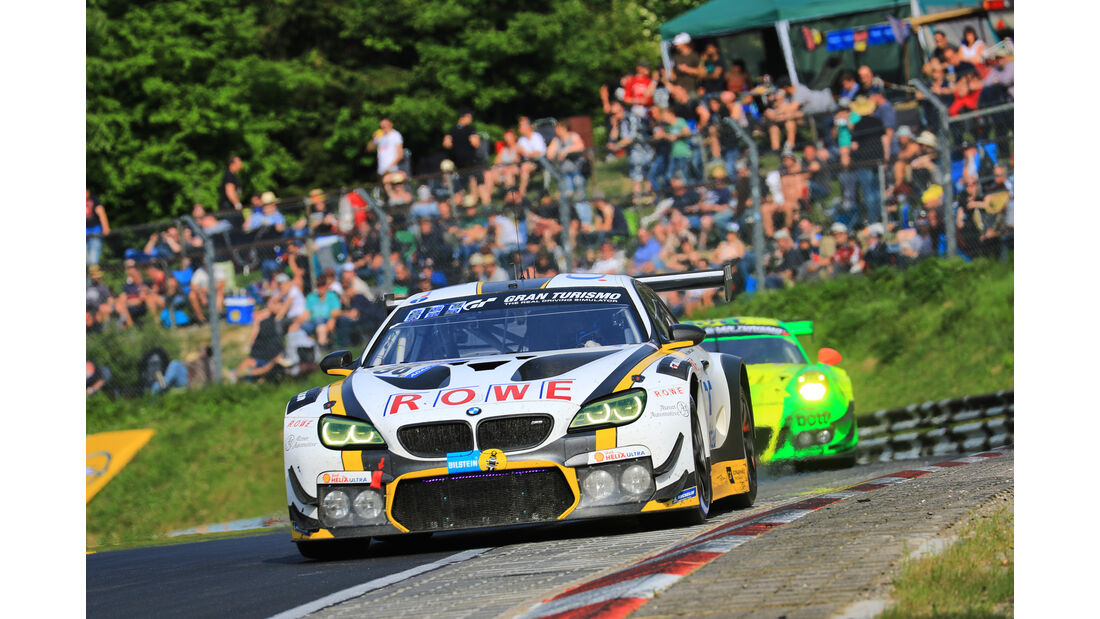 BMW M6 GT3 - Startnummer #98 - 24h-Rennen Nürburgring 2018 - Nordschleife - Samstag 12.5.2018