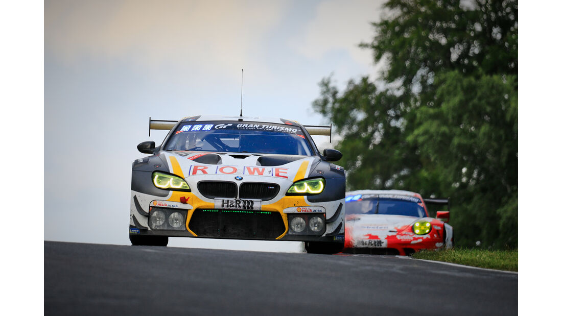 BMW M6 GT3 - Startnummer #98 - 24h Rennen Nürburgring - 22. Juni 2019