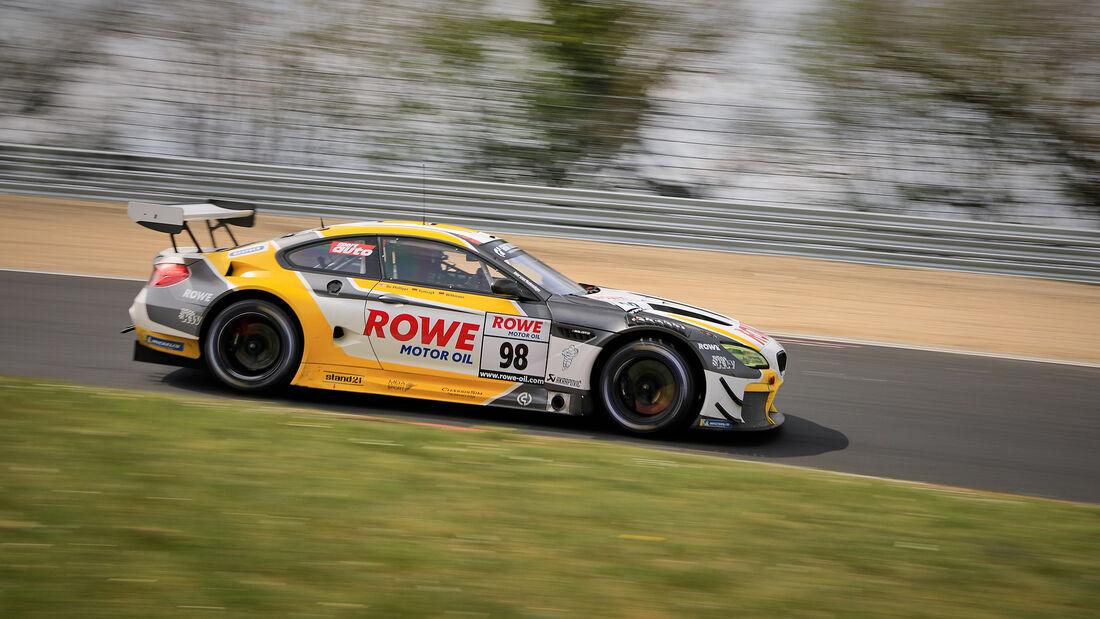 BMW M6 GT3 - Startnummer #98 - Rowe Racing - SP9 Pro - NLS 2021 - Langstreckenmeisterschaft - Nürburgring - Nordschleife