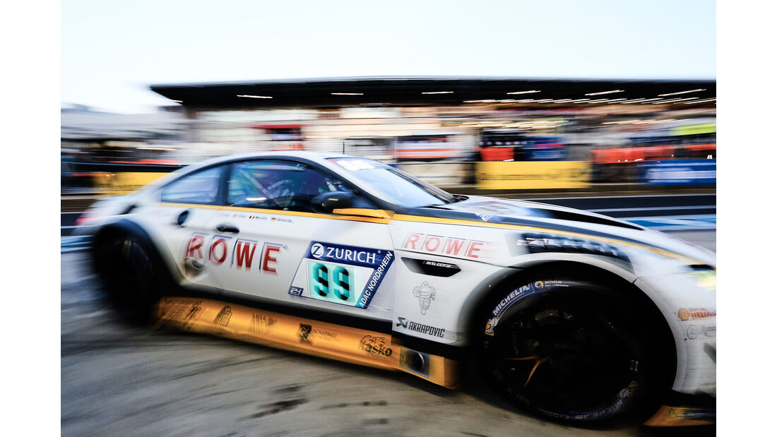 BMW M6 GT3 - Startnummer #99 - 24h-Rennen Nürburgring 2017 - Nordschleife - Samstag - 27.5.2017
