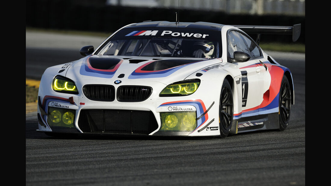 BMW M6 GT3 - Tests - Daytona 2015