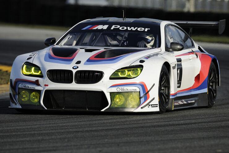 BMW M6 GT3 - Tests - Daytona 2015