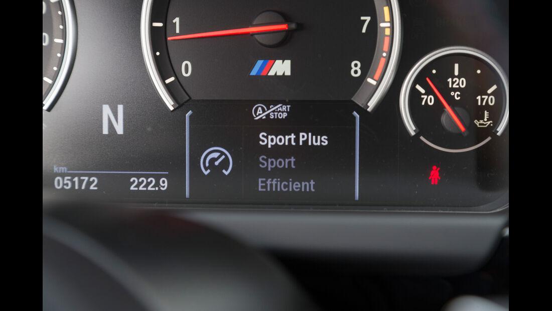 BMW M6 Gran Coupé, Anzeige, Bordcomputer