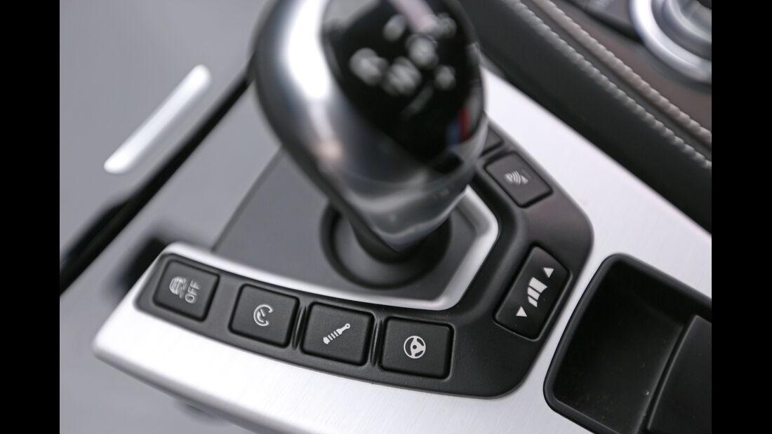 BMW M6 Gran Coupé, Bedienelemente, Schalthebel