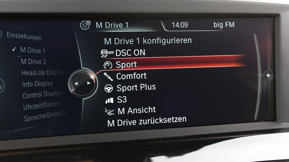 BMW M6 Gran Coupé, Bildschirm, Display